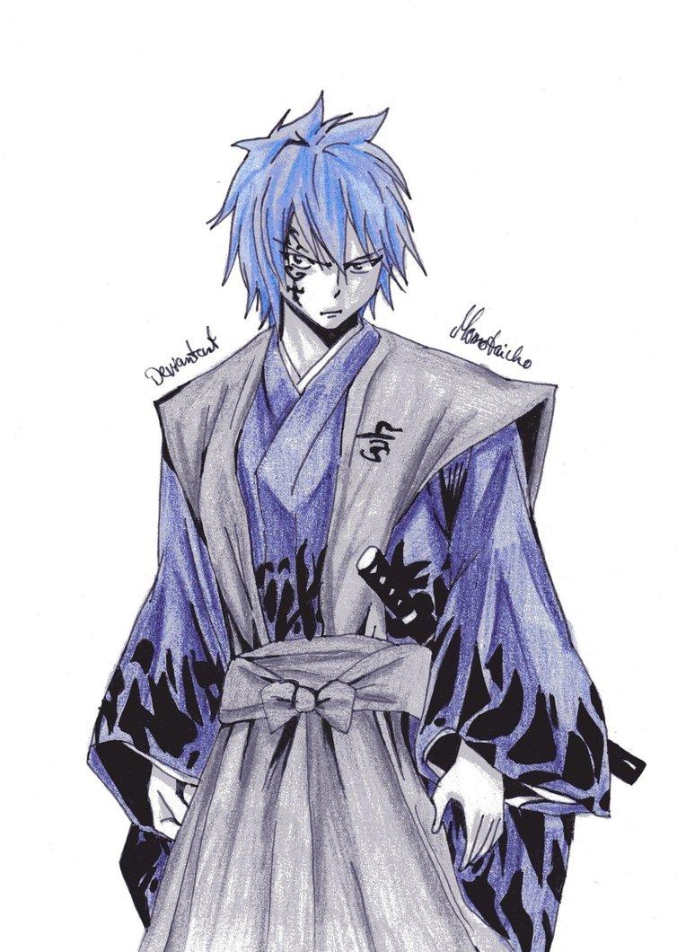 Drawn samurai cartoon Sama on by sama by