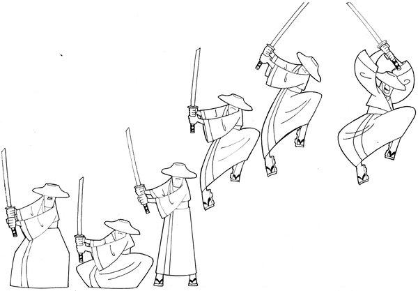 Drawn samurai cartoon Jack on by Jack by