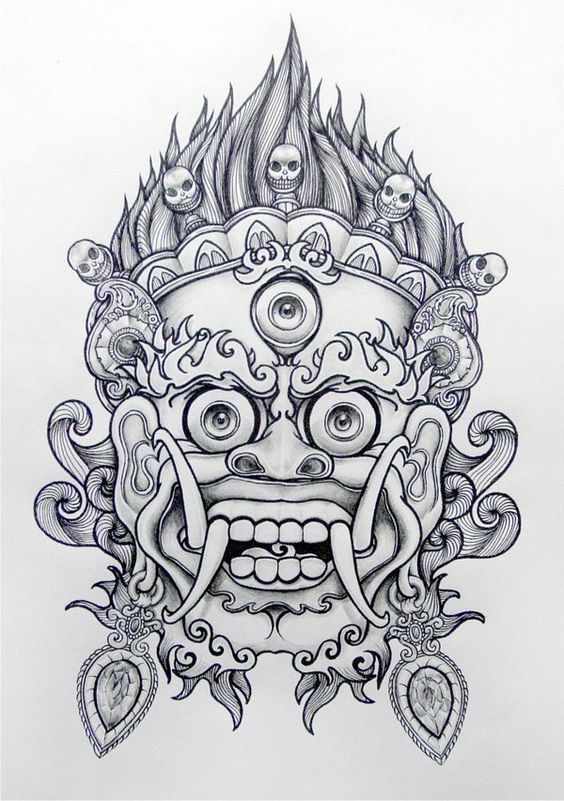 Drawn samurai chinese Chinese Lion:: 25+ Best mask
