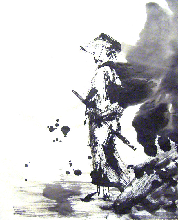 Drawn samurai chinese SAMURAI SAMURAI Pinterest Art Samurai
