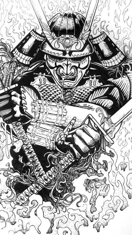 Drawn samurai dead Best #art on 1336 #samurai