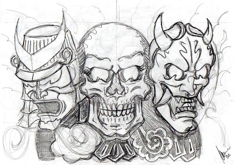 Drawn samurai dead Such will have bodies album