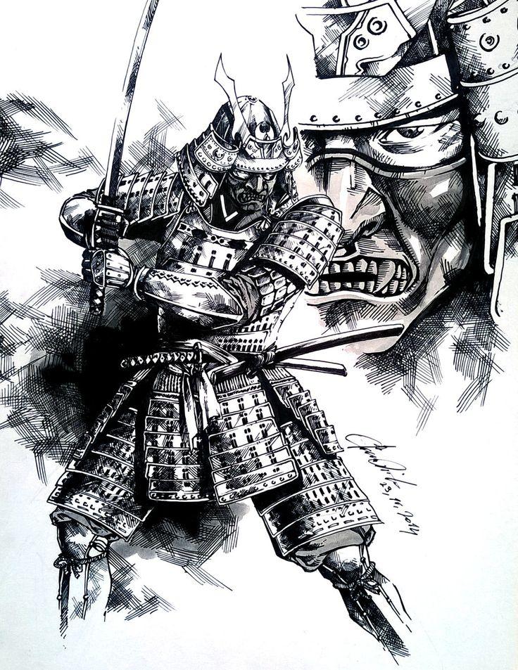 Drawn samurai deviantart 20+ Pinterest Samurai Best deviantart