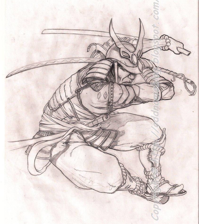 Drawn samurai deviantart DeviantART Samurai on on Design