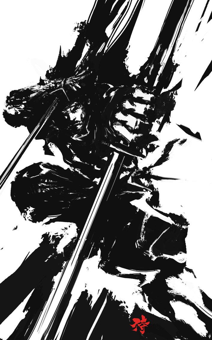 Drawn samurai deviantart / Pinterest Facebook xombiedirge: Braun