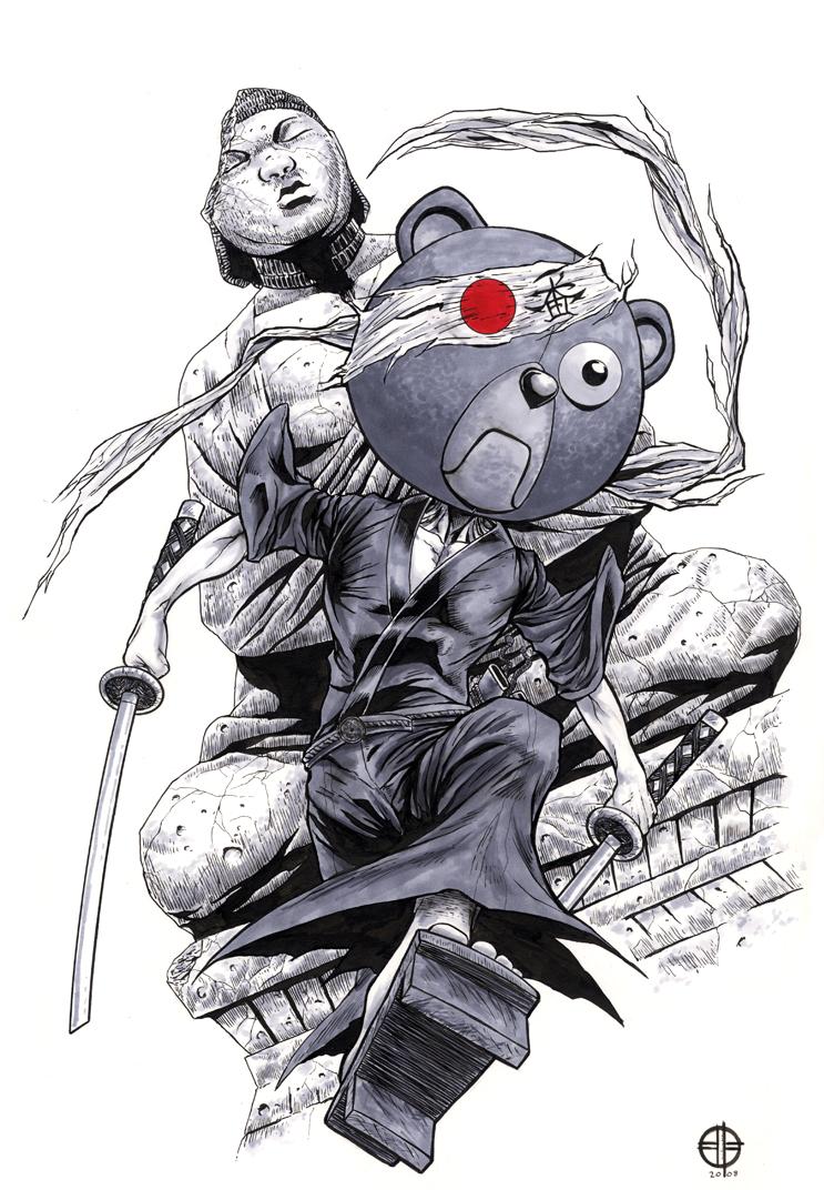 Drawn samurai deviantart @deviantART BrettBarkley on on by