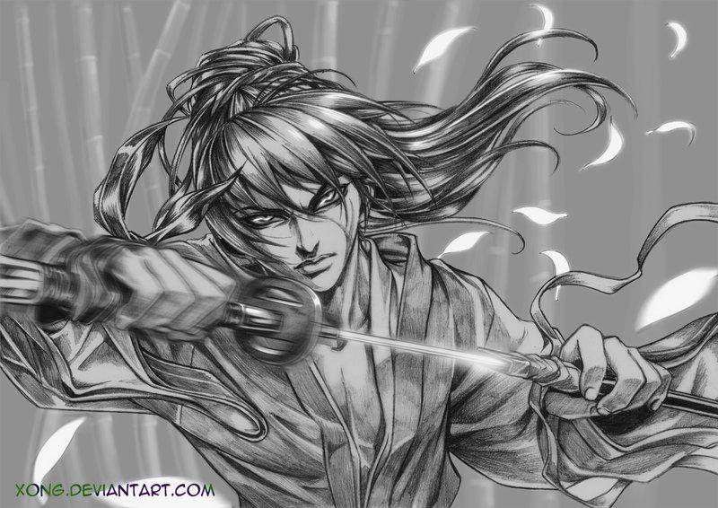 Drawn samurai deviantart By FANART X xong Fabulous