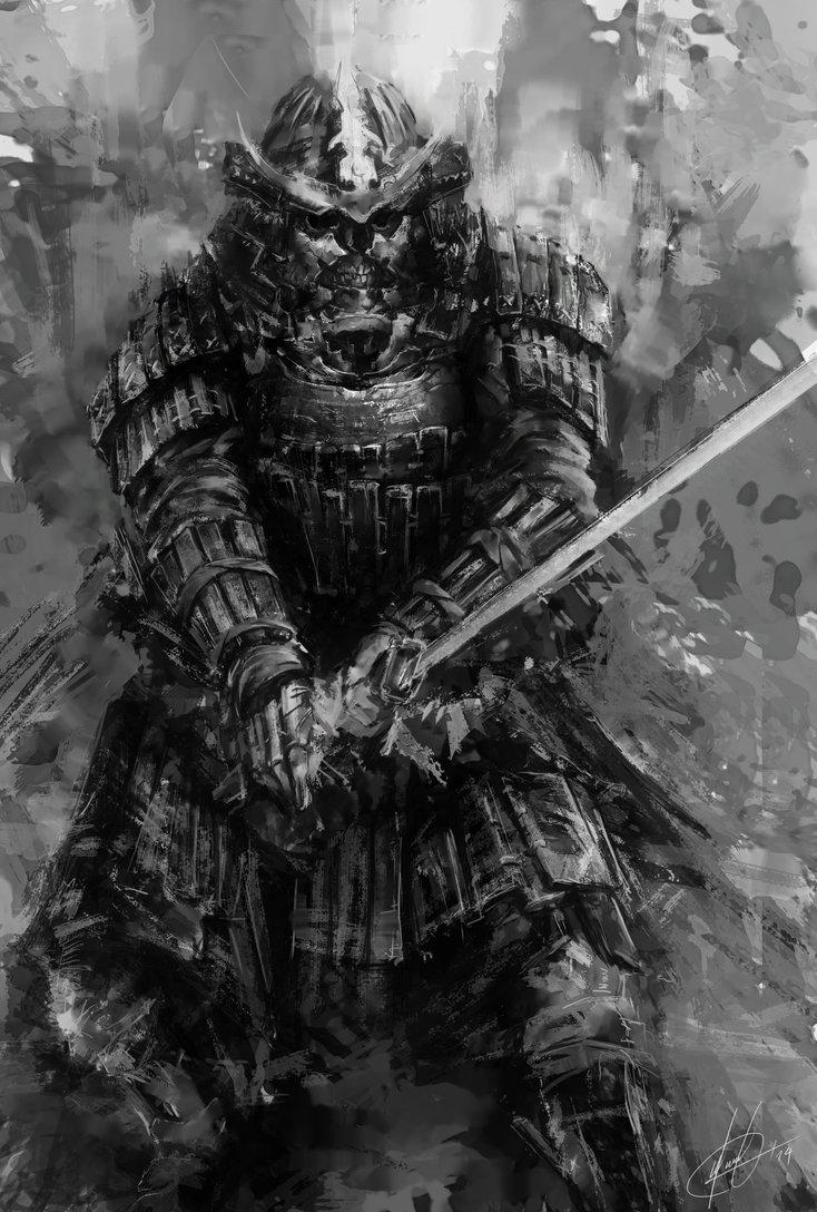 Drawn samurai deviantart Con Cerca con  deviantart