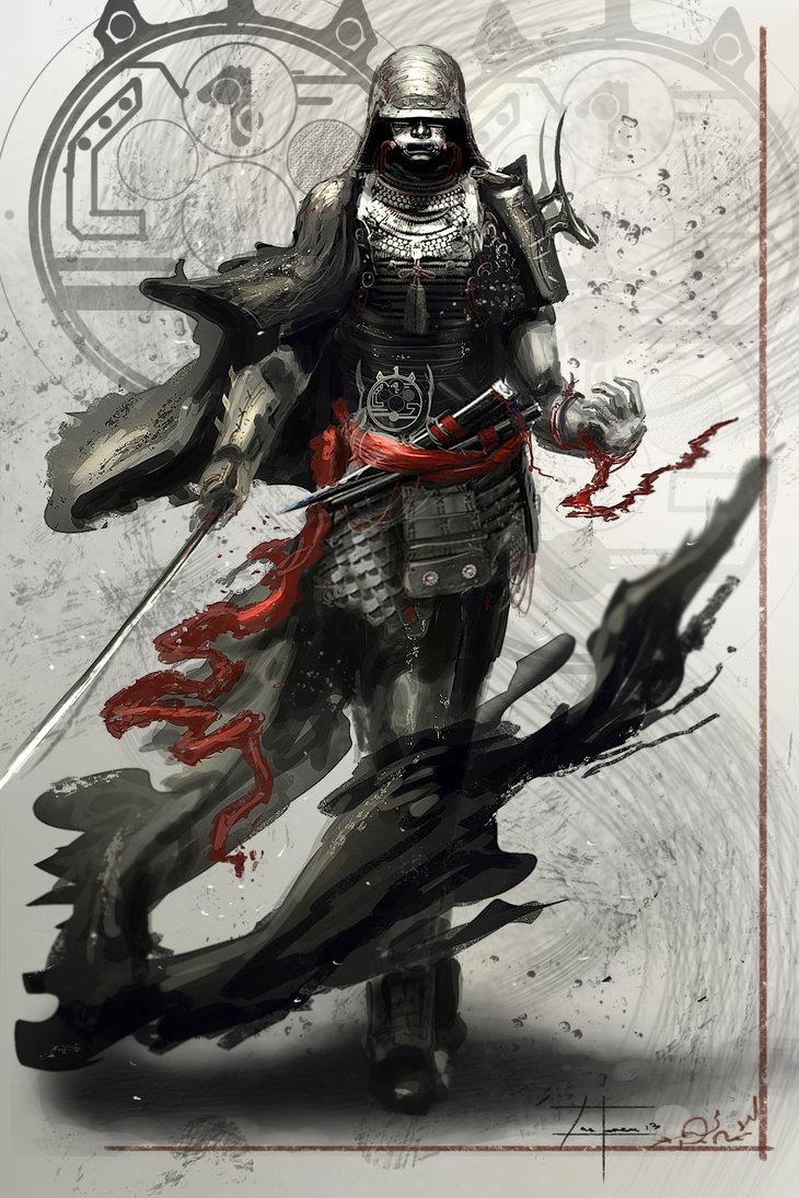 Drawn samurai deviantart DeviantART 13) on  on