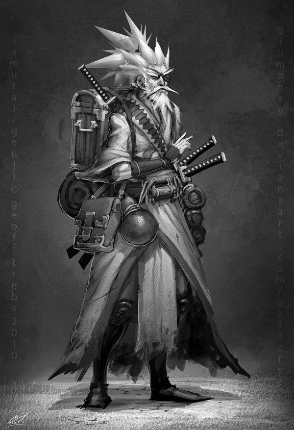 Drawn samurai deviantart Samurai com monks @deviantART dinmoney