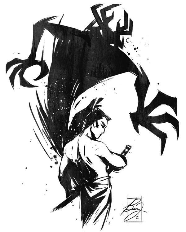 Drawn samurai deviantart On Jack deviantart @DeviantArt com
