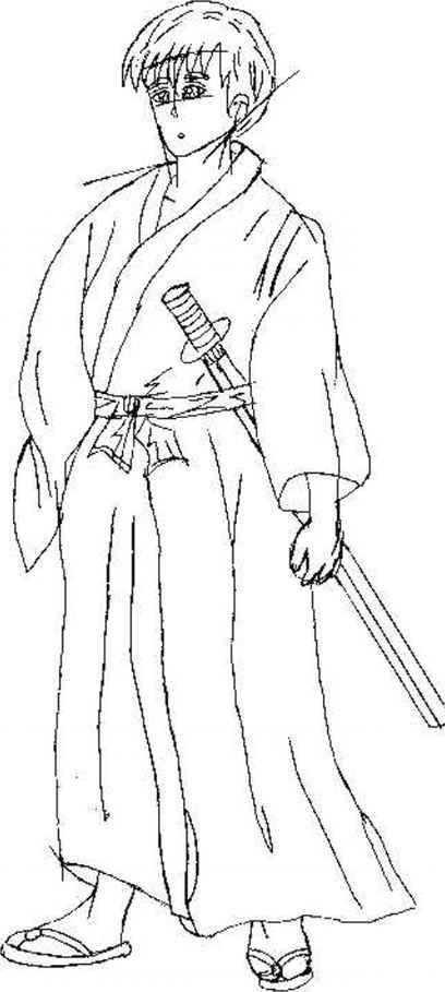 Drawn samurai easy Draw Anime Draw And Joshua