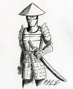 Drawn samurai easy Samurai ap Princess abduction: Love