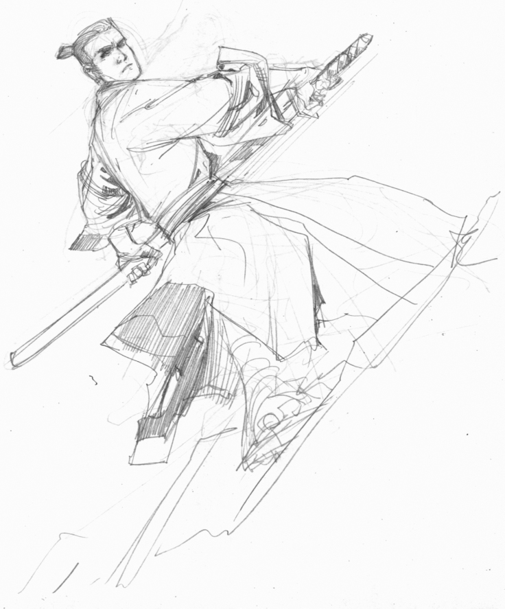 Drawn samurai epic samurai On Jack Samurai by Samurai