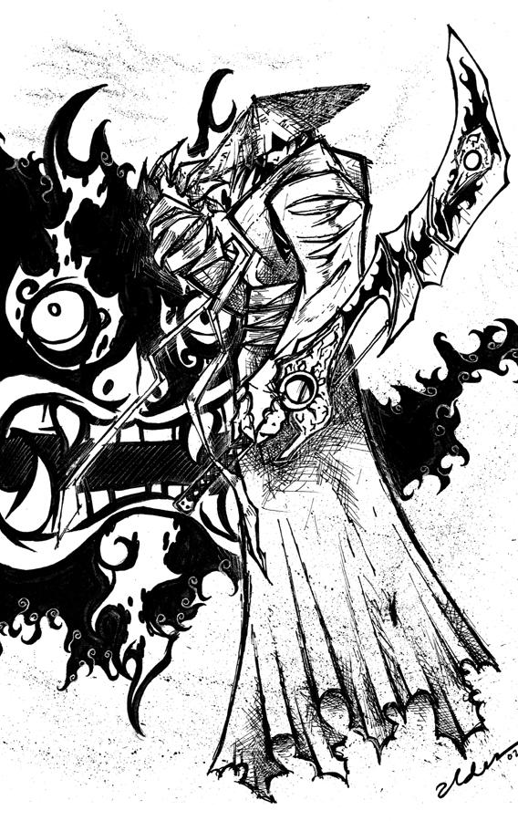 Drawn samurai epic samurai By Jack Jack ald3n Pinterest