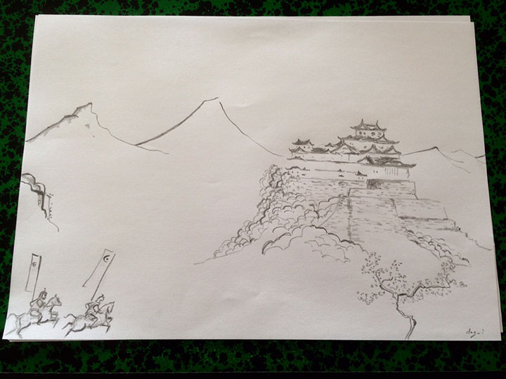 Drawn samurai epic samurai In In Attack Samurai Pierro