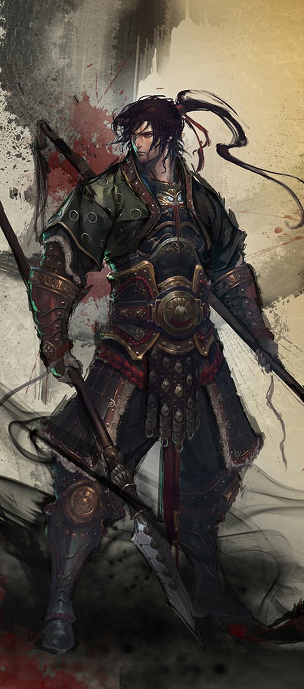 Drawn samurai epic samurai Samurai a Love was life