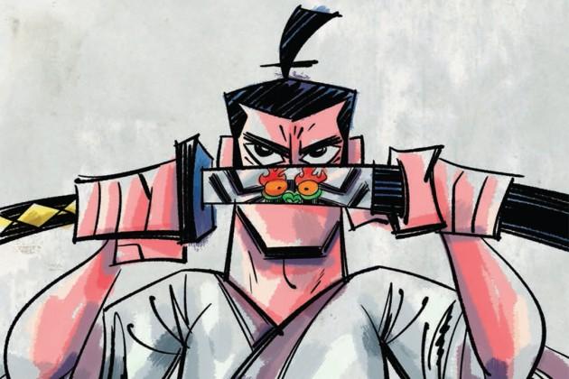 Drawn samurai epic samurai Epic IDW Jack Time Is