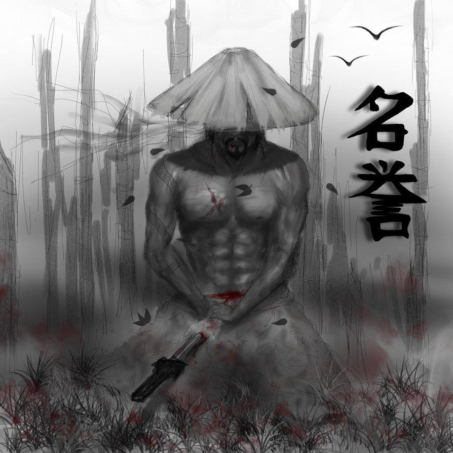 Drawn samurai harakiri SimpleProdigy SEPPUKU by SimpleProdigy SEPPUKU