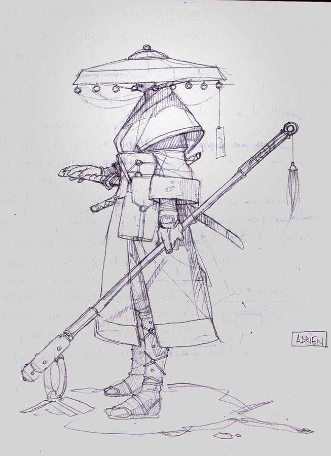 Drawn samurai hat On best images 157 Samurai