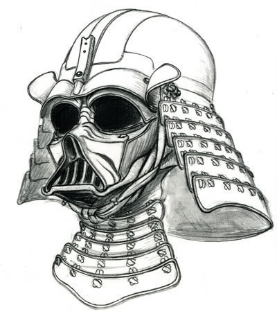 Drawn samurai hat The him thought on Pin
