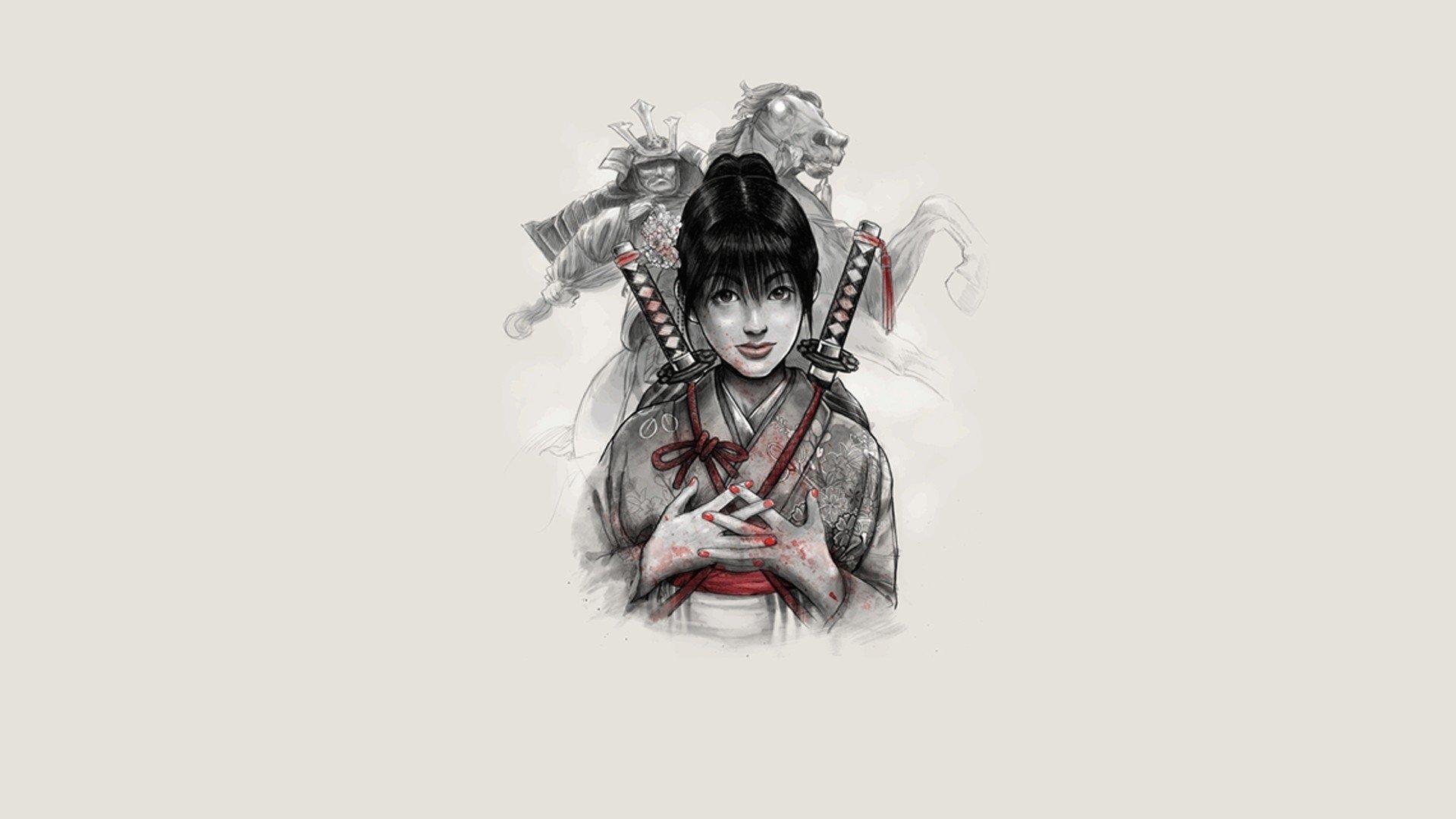 Drawn samurai hd wallpapers Abyss HD Wallpaper 3 HD