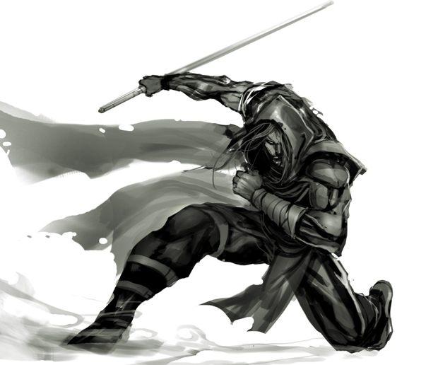 Drawn samurai hd wallpapers Phone to Ninja Samurai cell