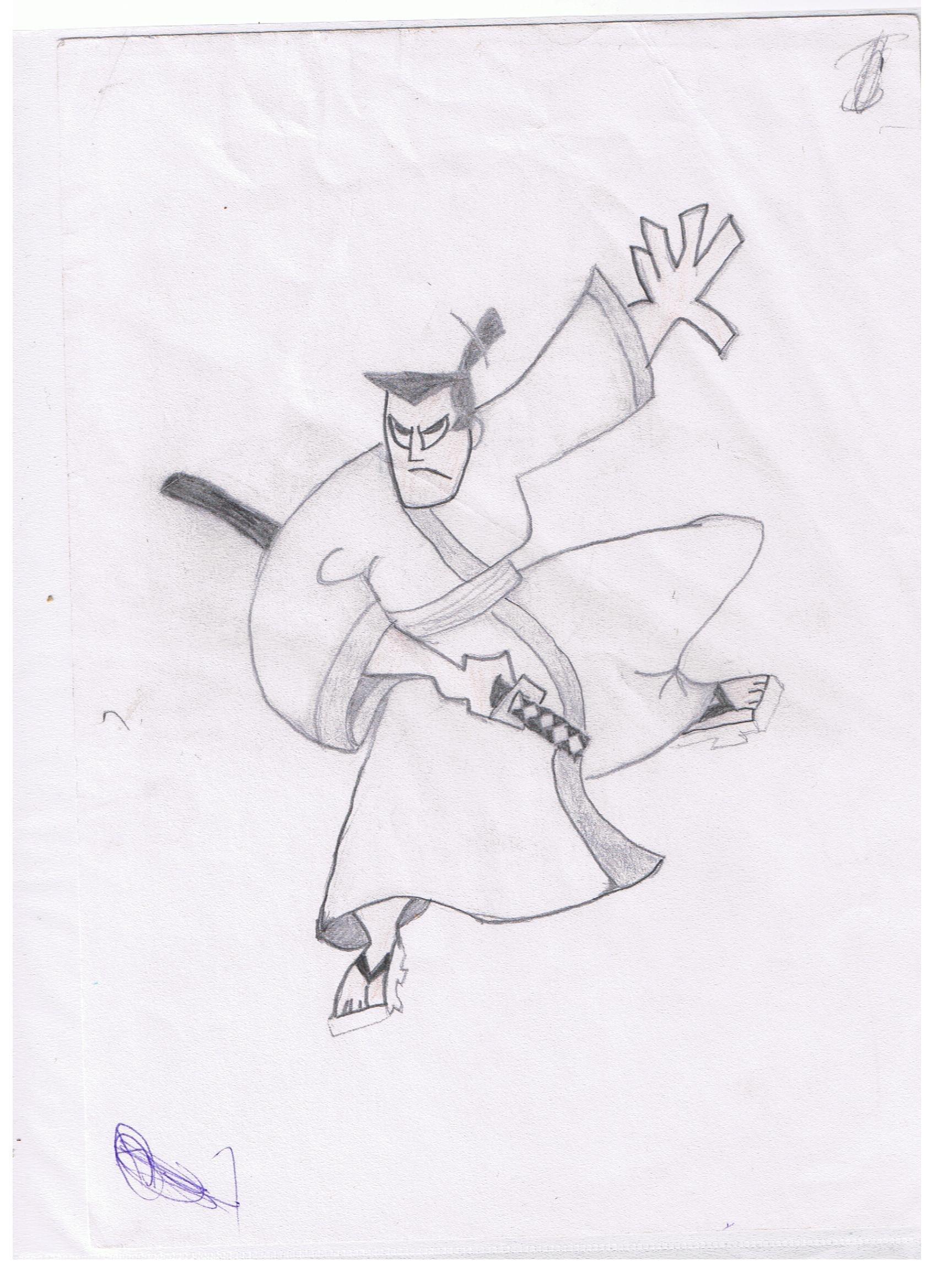 Drawn samurai hd wallpapers Images photos Samurai HD drawing