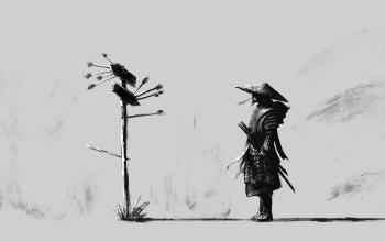 Drawn samurai hd wallpapers Abyss HD Wallpaper 4 HD
