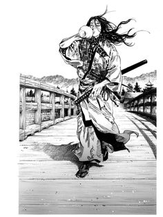 Drawn samurai horse Pinterest Samurai Illustration Sumi Vagabond