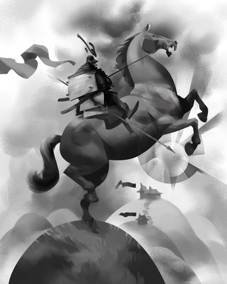 Drawn samurai horseback drawing The This Samurai net OrenBlog