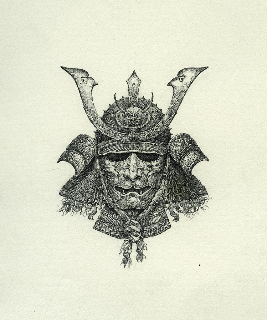 Drawn samurai ink Samurai Tattoo and Samurai Samurai