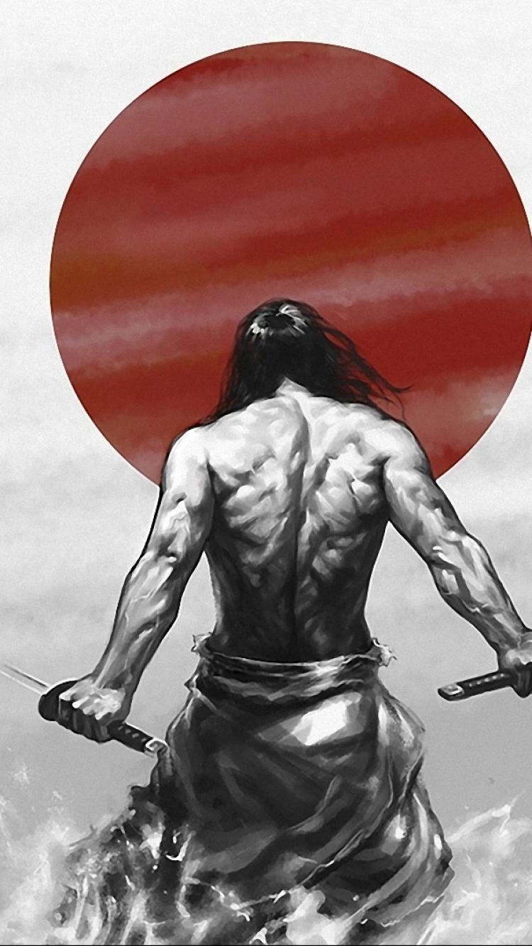 Drawn samurai iphone 6 wallpaper Check Wallpaper 6 Fantasy/Samurai Wallpaper