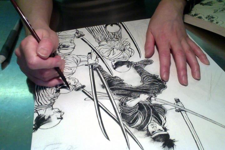 Drawn samurai japanese calligraphy Samurai Designs Criterion for From