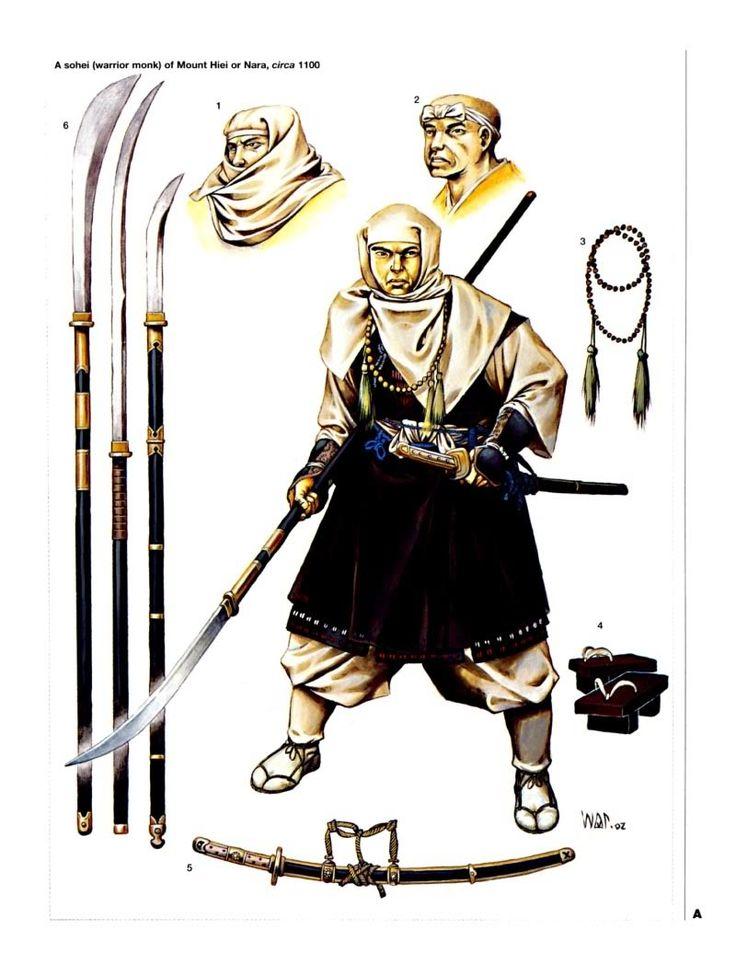 Drawn samurai japanese monk 33 (warrior best this (warrior