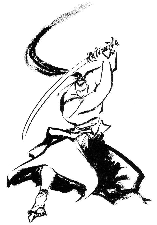 Drawn samurai japanese symbol Color Tattoos pictures images japanese