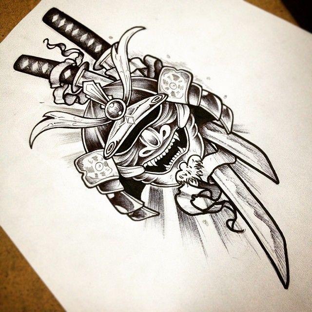 Drawn samurai japanese symbol On ideas Instagram Samurai 132