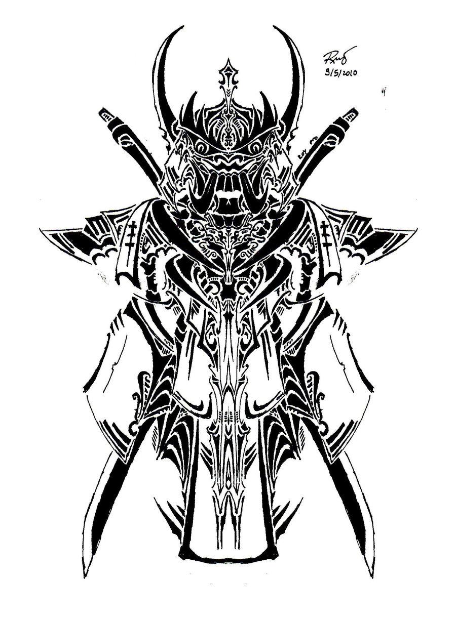 Drawn samurai japanese symbol DeviantArt on symbol by hanya