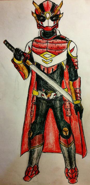 Drawn samurai kamen rider By Kamen DeviantArt on Samurai