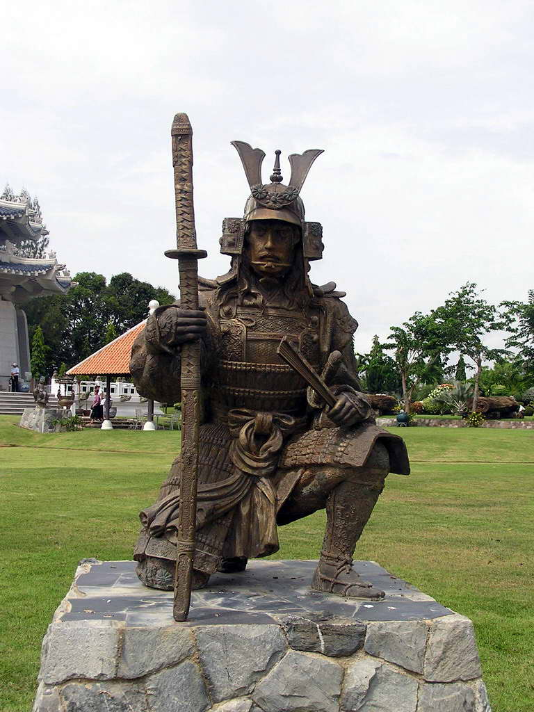 Drawn samurai knee On Piva900 WaltPage Knee by