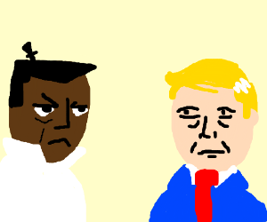 Drawn samurai knee 2 Jack Trump (drawing by