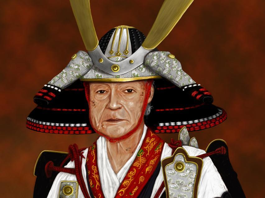 Drawn samurai old August August 2007 Blog War
