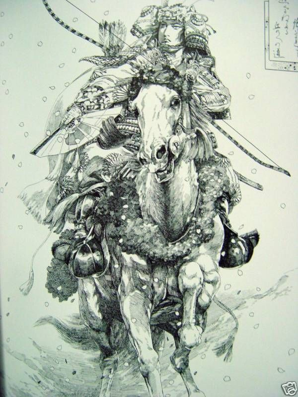 Drawn samurai pencil Best samurai on images Pinterest