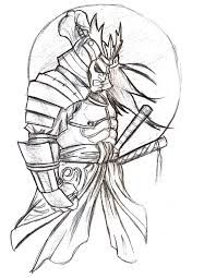 Drawn samurai pencil Google Japanese by Drawings