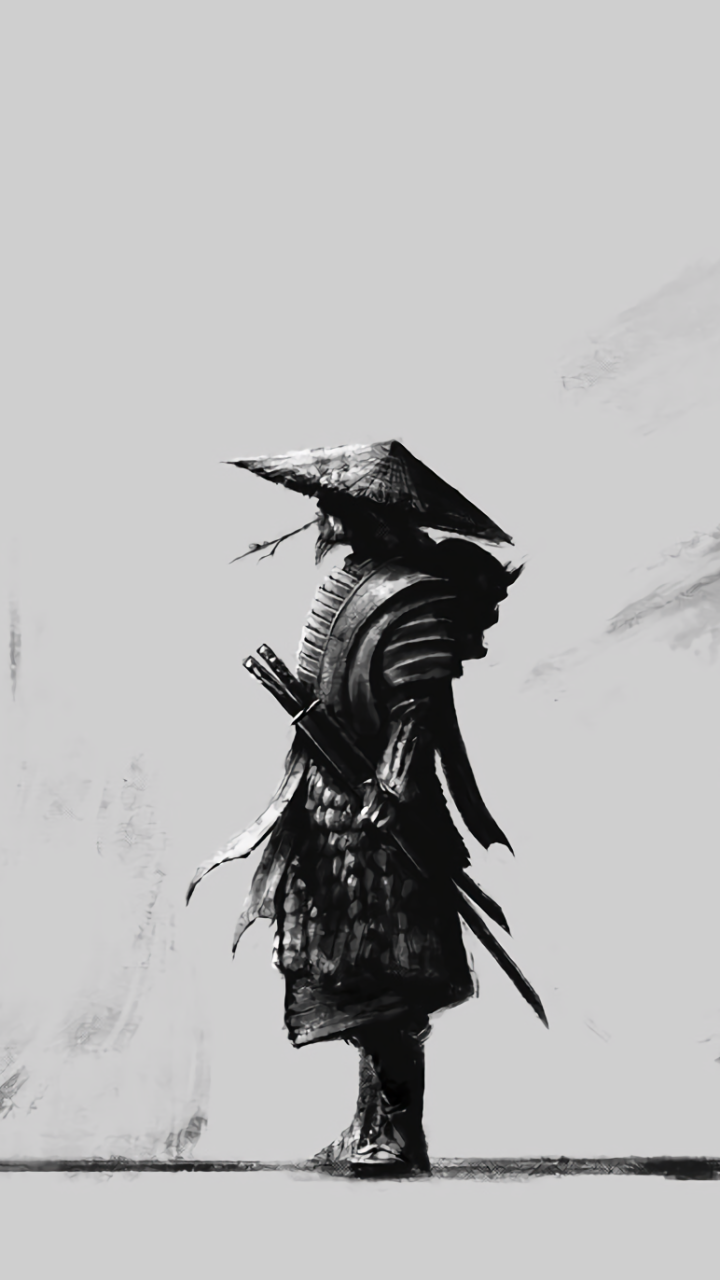Drawn samurai phone wallpaper Fantasy/Samurai Wallpaper ID: Beautiful 627938