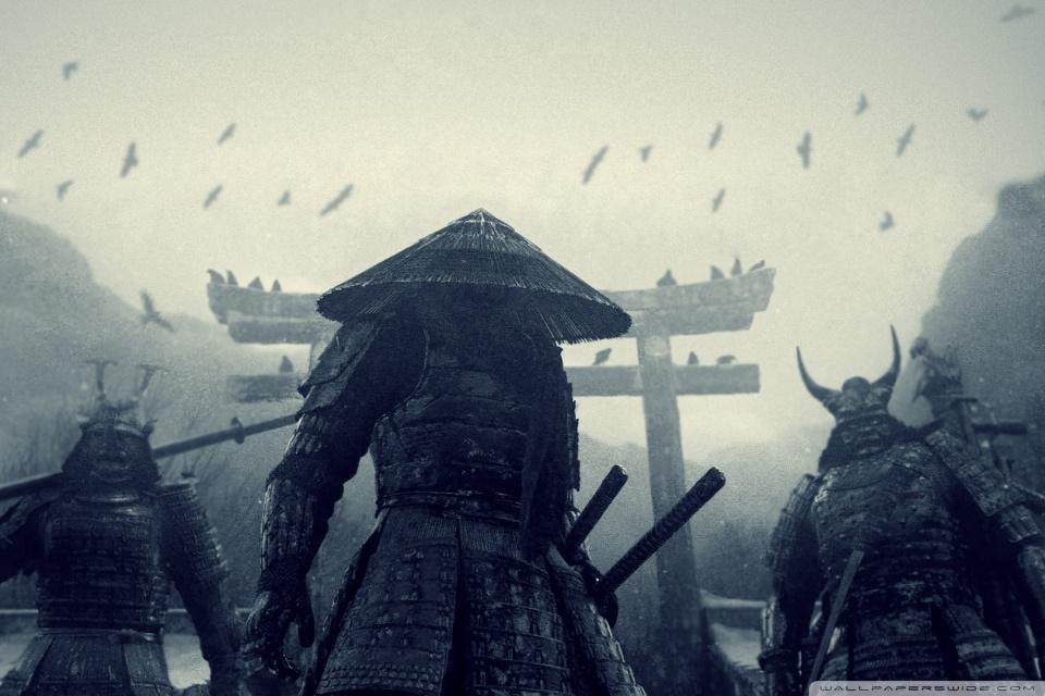 Drawn samurai phone wallpaper Sucker Punch Widescreen High HD