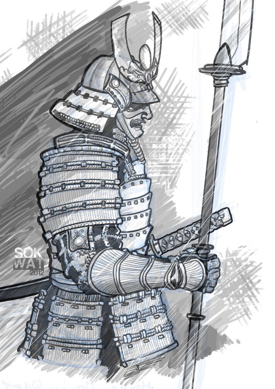 Drawn samurai pinterest Search Google samurai Samurai samurai