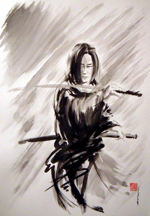 Drawn samurai pinterest Best 17 images and Illustration