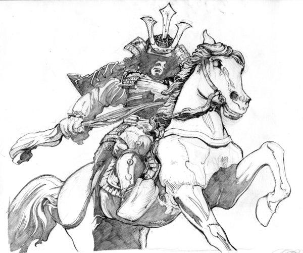 Drawn samurai pinterest Google Pesquisa samurai Samurai TATTOOS