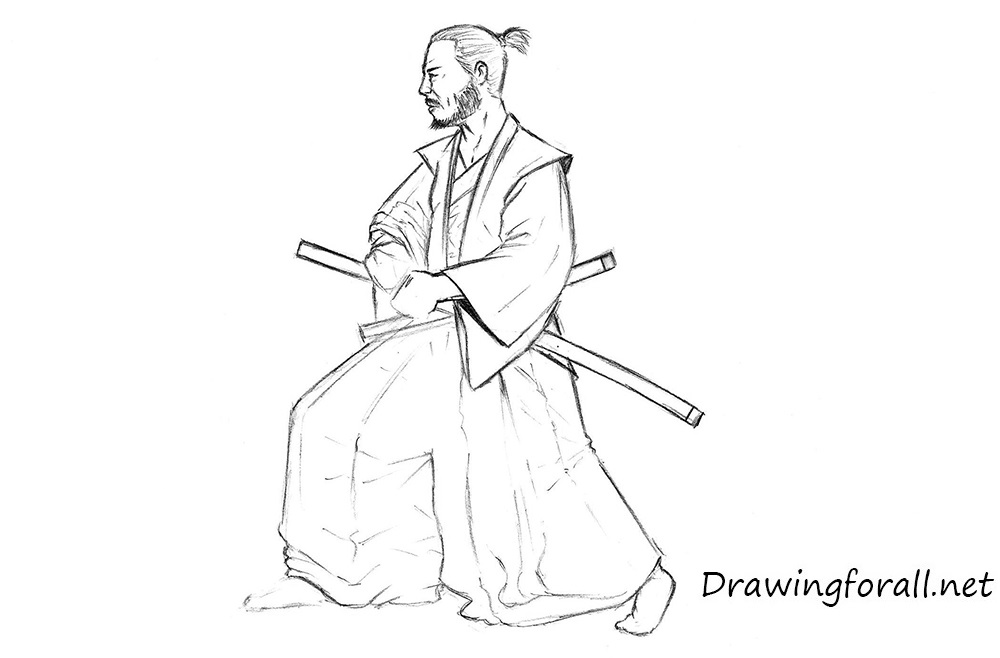 Drawn samurai realistic How by DrawingForAll to a